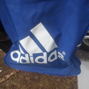 Addias duffle bag 21x7x14$34 + Addias hat